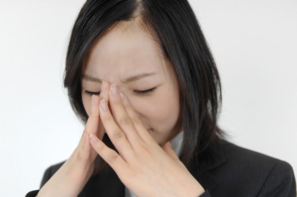 女性 ストレス悲しい bs022