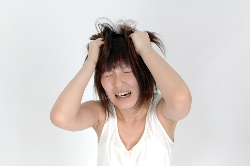 PMS(月経前症候群)と精神ストレス