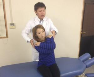 滋賀大津カイロプラクティック治療後の確認