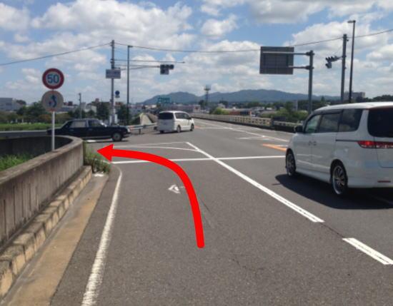 滋賀大津カイロ国道1号線京都方面から